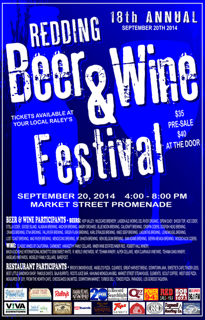 Redding's Beer & Wine Fetival